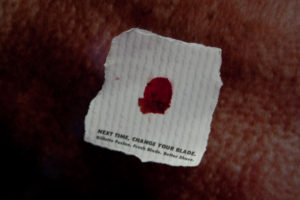 gillette_bloody-tissue-sticker