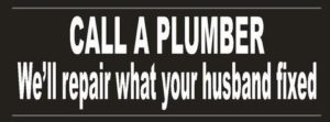 plumber-repair-bumper-sticker