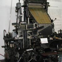 Linotype Setting Machine