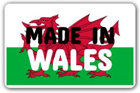 made in wales sticker