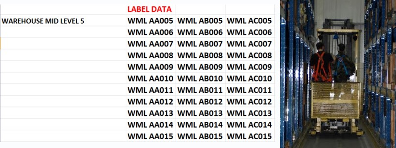 Printed Labels For Warehouse Racking – Sticky Labels Blog