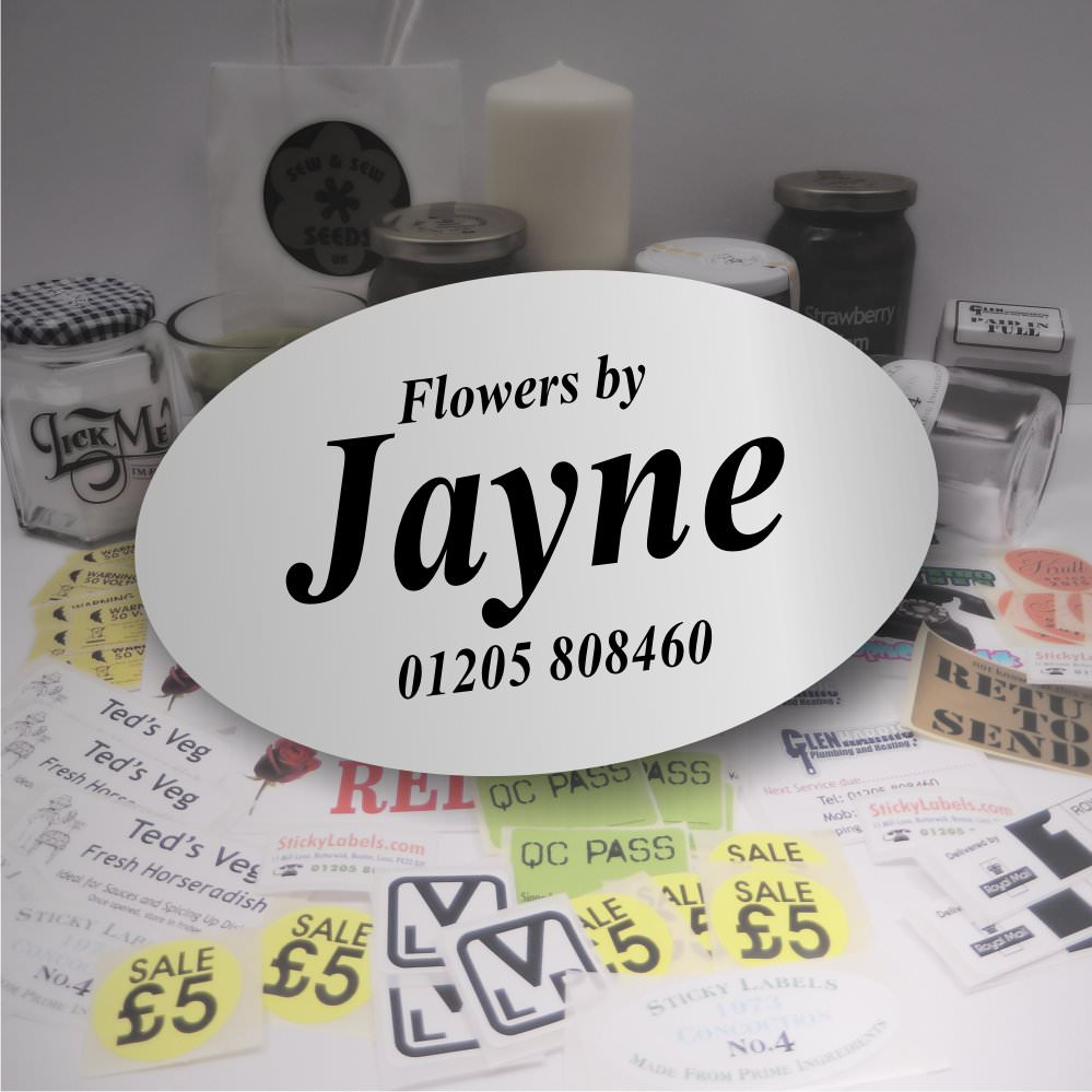 Florist Labels / Stickers For Flowers